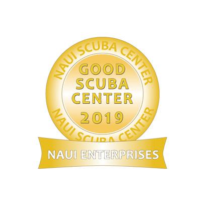 NAUIグッドスクーバセンター賞ロゴ