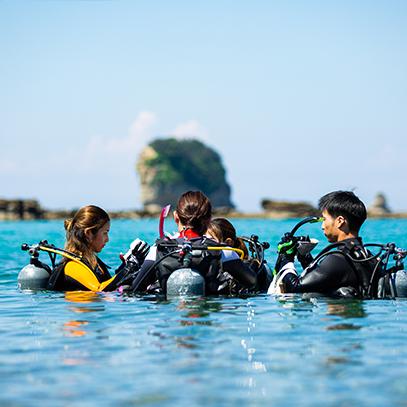 海洋実習の様子