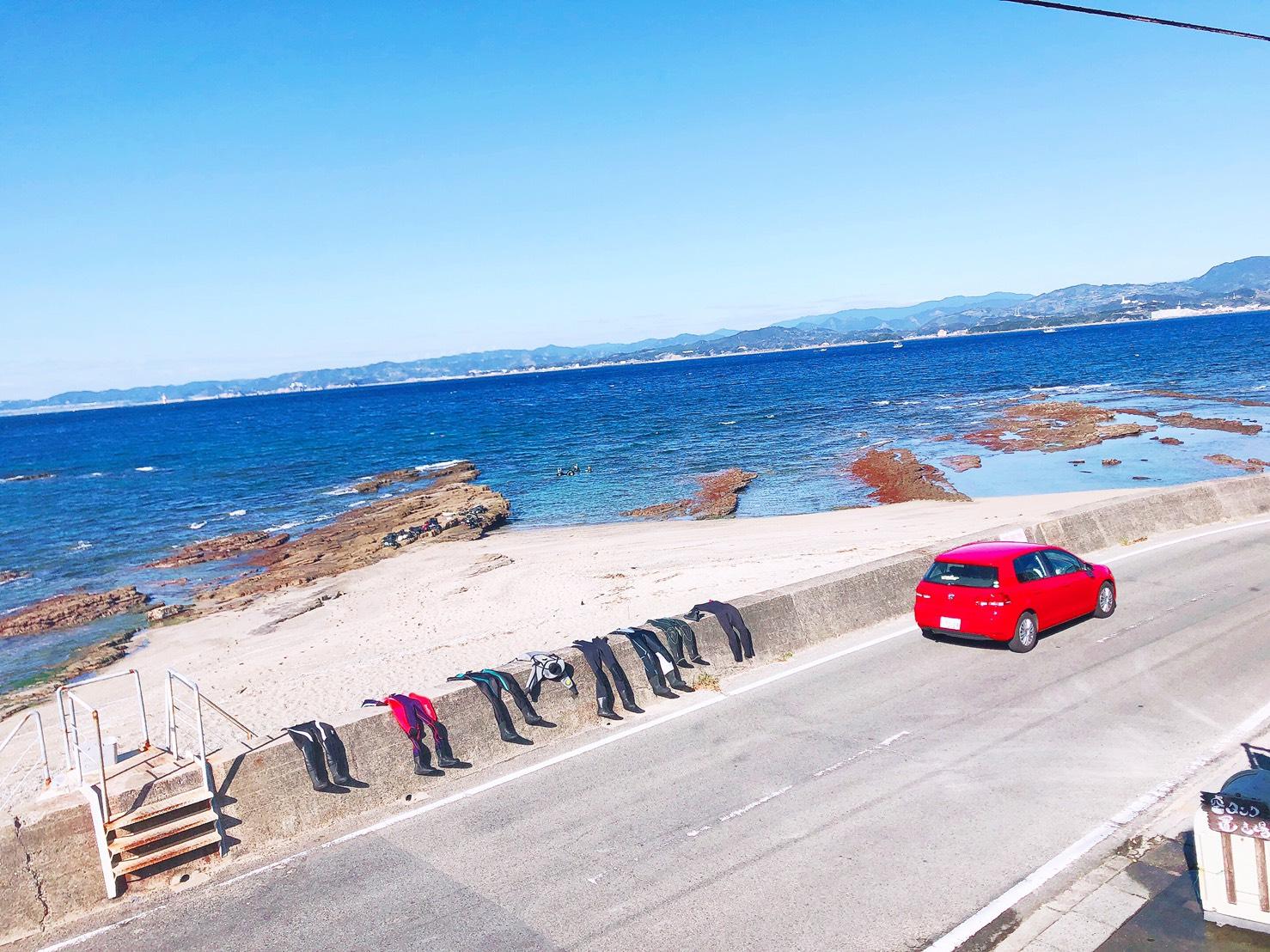 日帰り 白浜 2ビーチ+体験ダイビングのイメージ